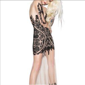 NWT For love & lemon Lotus maxi dress large